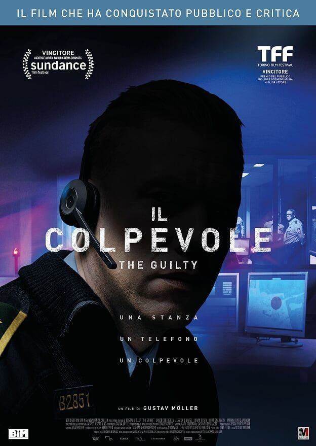 <i>Il colpevole–The guilty</i>, un film di Gustav Möller